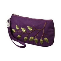 Item: Global Girlfriend Purple Branch Out Wristlet