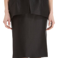 Martin Grant Bustier Peplum Dress at Barneys.com