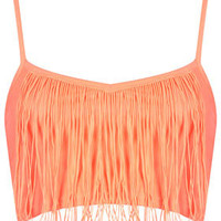 Fringe Bralet - Palm Springs  - Clothing