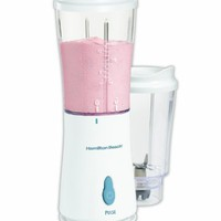 Hamilton Beach Single-Serve Blender with 2 Jars and 2 Lids