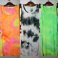 Fluorescence Elastic Vest for Summer