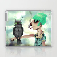 Punk N' A Bird Laptop & iPad Skin by Ben Geiger