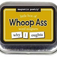 Amazon.com: Magnetic Poetry - Little Box of Whoop Ass Words: Toys & Games