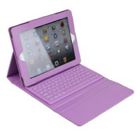 Leather iPad Wireless Bluetooth Keyboard Case