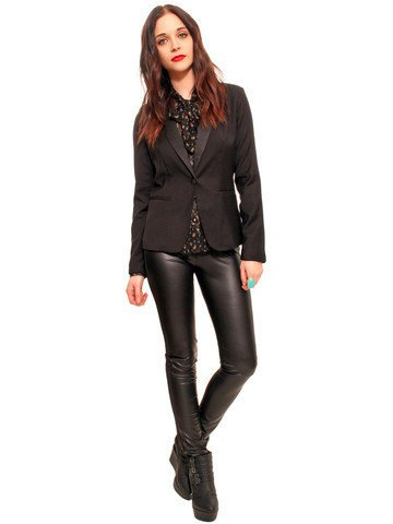 GYPSY WARRIOR - Structured Black Blazer