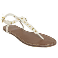 Pyramid Studded Sandal | Shop Shoes at Wet Seal