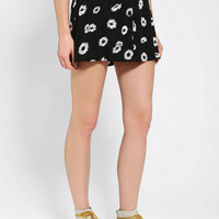 Urban Outfitters - Motel Andrea Button-Front Mini Skirt