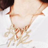 Love Me Statement Necklace | LilyFair Jewelry