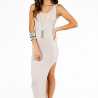Slit On My Side Maxi $32
