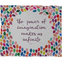 DENY Designs Home Accessories | Garima Dhawan Imagination Fleece Throw Blanket