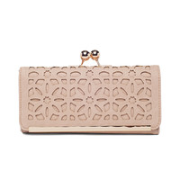 Ivory Laser Cut Wallet by Street Level