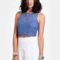 Sweet Spot Lace Crop Top