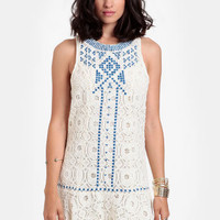 Marcaria Embriodered Lace Dress