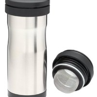 Thermos Nissan 12-Ounce Stainless-Steel Tea Tumbler with Infuser