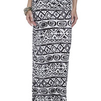 Tribal Printed Maxi Skirt | Shop Tribal at Wet Seal