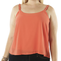Studded Strap Tank | Shop Jr. Plus at Wet Seal