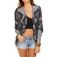 Heather Gray Long Sleeve Dolman Jacket