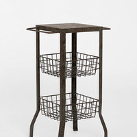 4040 Locust Double-Tiered Side Table