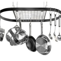 Innova Classicor Wrought-Iron Oval Pot Rack