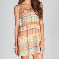 FIRE Ethnic Print Chiffon Dress 215165957 | Short Dresses | Tillys.com
