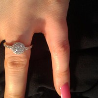 Have You Seen the Ring?: White Gold Diamond Ring