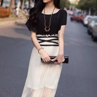 EXQUISITE DESIGN FASHION DRESS
