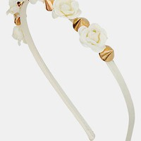 Topshop Mini Flower & Spike Headband | Nordstrom