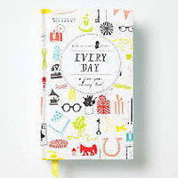 Anthropologie - Every Day: A Five-Year Memory Book