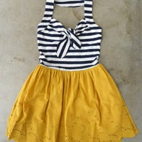 Ahoy, Sailor! Dress [4018] - $48.00 : Vintage Inspired Clothing & Affordable Summer Frocks, deloom | Modern. Vintage. Crafted.