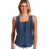 Scully Wild West Tank Bustier
