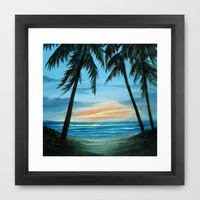 Good Morning Sunshine Framed Art Print by Rosie Brown