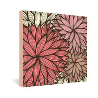 DENY Designs Home Accessories | Gabi Orange Dahlia Gallery Wrapped Canvas