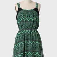 South Thessaly Printed Dress