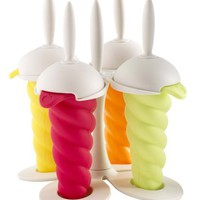 Orka A47221 Ice Pop Molds, White Base