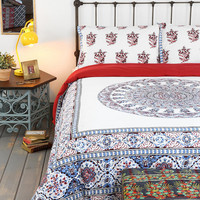 Urban Outfitters - Magical Thinking Temple Medallion Duvet Cover