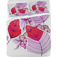 DENY Designs Home Accessories | Gabi Sea Leaves Sheet Set