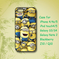 Despicable me - iPhone 4 Case, iPhone 5 Case, ipod case, Samsung Galaxy S4, Samsung Galaxy S3, Samsung note 2, blackberry z10, Q10