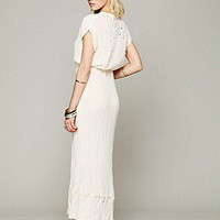 Jen's Pirate Booty  Sleeveless Crochet Inset Maxi at Free People Clothing Boutique