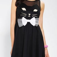 Urban Outfitters - Reverse Kitty Skater Dress