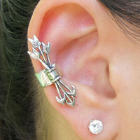 Antique Arrow Set Fashion Ear Cuff (Single) | LilyFair Jewelry