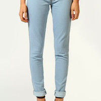Natalia Bleach Wash Skinny Denim Jeggings