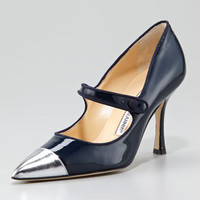 Camparicap Mary Jane Pump