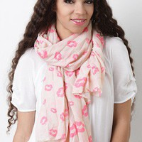 Maxed Out Kisses Scarf
