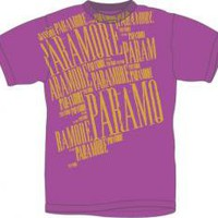 Paramore T-Shirt - Paramore Purple