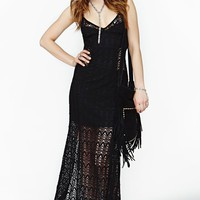 Hendrix Crochet Maxi Dress