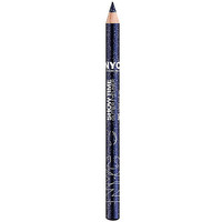 New York Color Show Time Glitter Eyeliner Pencil, Sky Blue