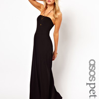 ASOS PETITE Bandeau Maxi Dress at asos.com