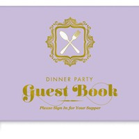 Dinner Party Guest Book - Adds a fun & unique twist! - Whimsical & Unique Gift Ideas for the Coolest Gift Givers