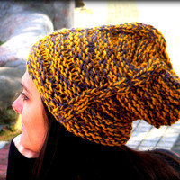Mustard Yellow slouchy hat,grey hat,women accessories,unisex hat,men hat,women hat,women beanie