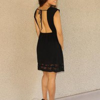 Open Back 'Carrie' Dress